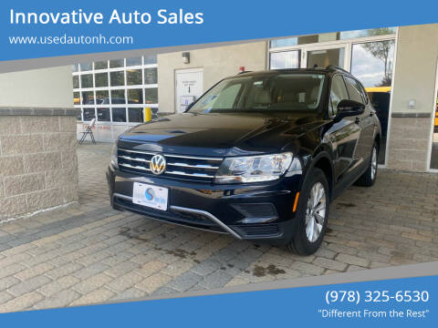 2019 Volkswagen Tiguan for sale at Innovative Auto Sales in North Hampton NH