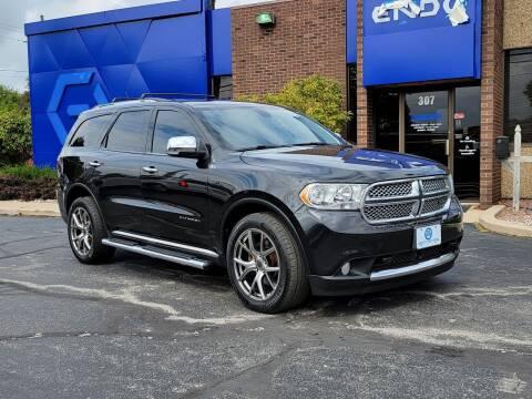 2013 Dodge Durango for sale at Mighty Motors in Adrian MI