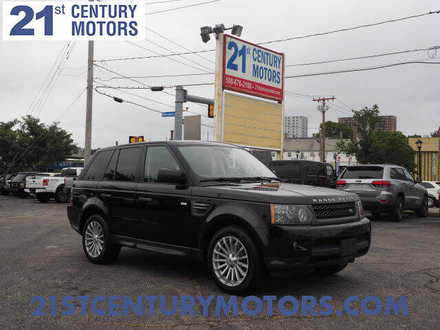 2011 Land Rover Range Rover Sport for sale at 21st Century Motors in Fall River MA