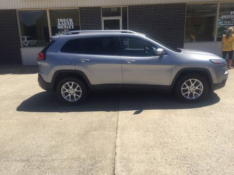 2014 Jeep Cherokee for sale at Truck and Auto Outlet in Excelsior Springs MO