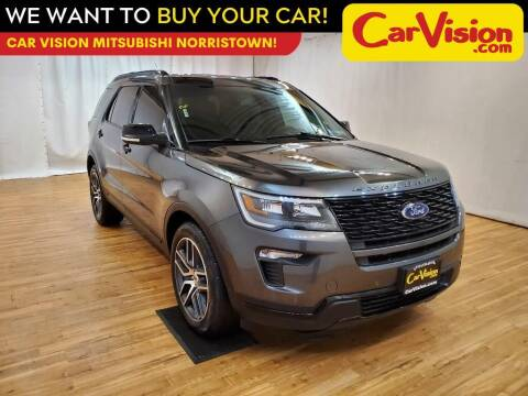 2019 Ford Explorer for sale at Car Vision Mitsubishi Norristown in Trooper PA