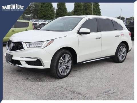 2017 Acura MDX for sale at BARTOW FORD CO. in Bartow FL