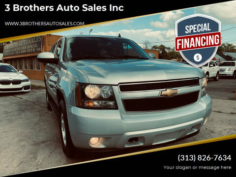 2013 Chevrolet Tahoe for sale at 3 Brothers Auto Sales Inc in Detroit MI