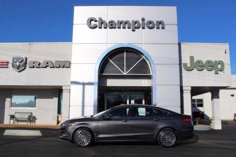 2017 Ford Fusion for sale at Champion Chevrolet in Athens AL