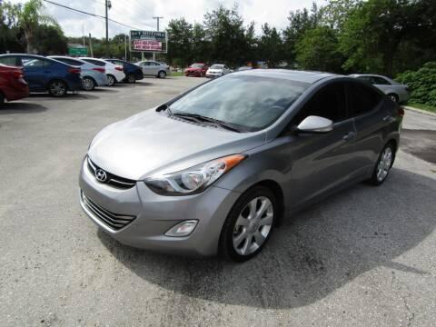 2013 Hyundai Elantra for sale at S & T Motors in Hernando FL