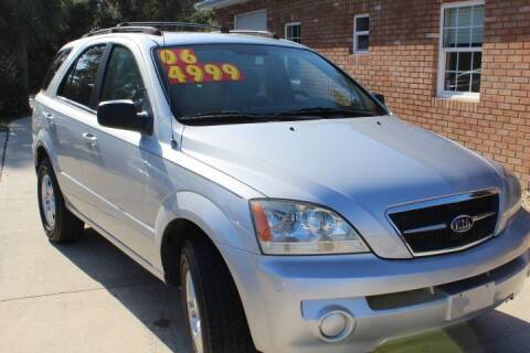 2006 Kia Sorento for sale at MITCHELL AUTO ACQUISITION INC. in Edgewater FL