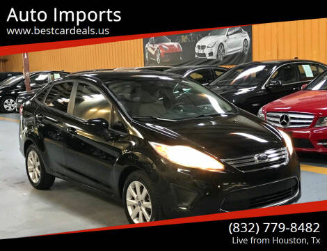 2012 Ford Fiesta for sale at Auto Imports in Houston TX