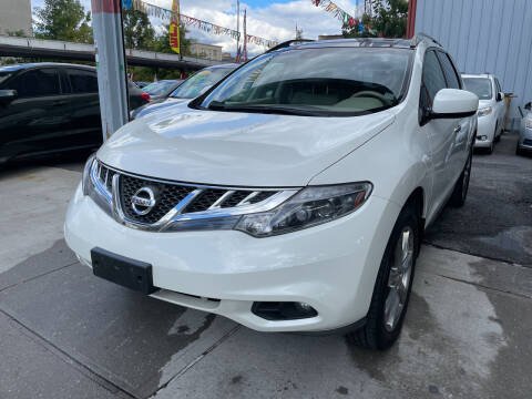 2014 Nissan Murano for sale at Gallery Auto Sales in Bronx NY