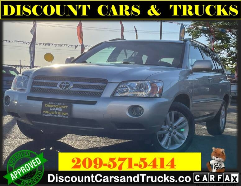 2007 Toyota Highlander Hybrid for sale at Discount Cars & Trucks in Modesto CA