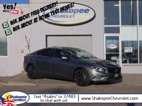 2018 Volvo S60 for sale at SHAKOPEE CHEVROLET in Shakopee MN