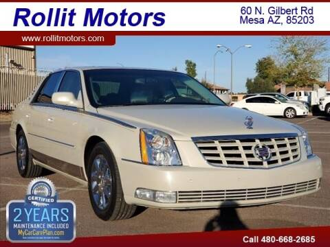 2011 Cadillac DTS for sale at Rollit Motors in Mesa AZ