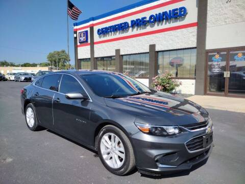 2016 Chevrolet Malibu for sale at Ultimate Auto Deals DBA Hernandez Auto Connection in Fort Wayne IN