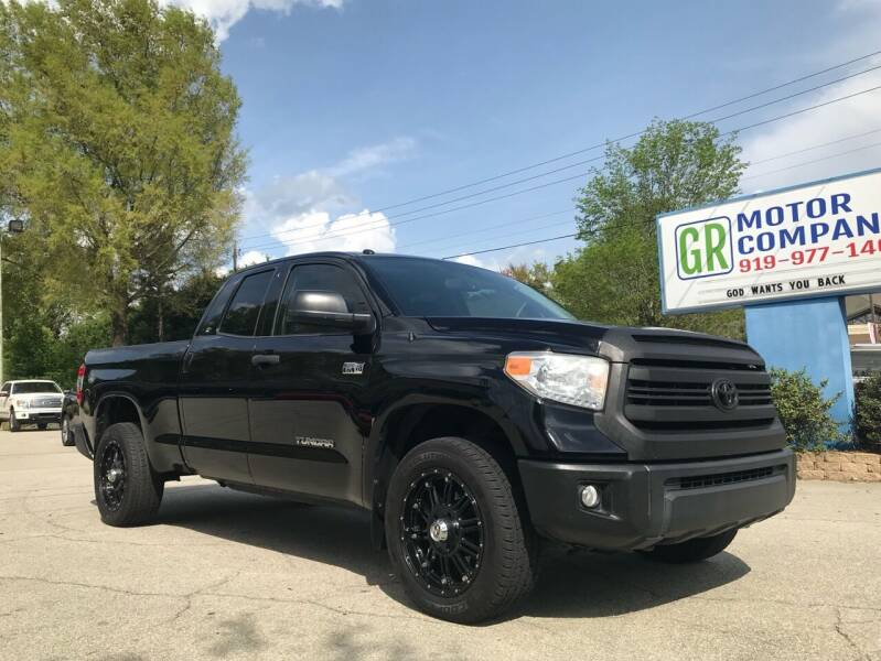 2016 Toyota Tundra for sale at GR Motor Company in Garner NC