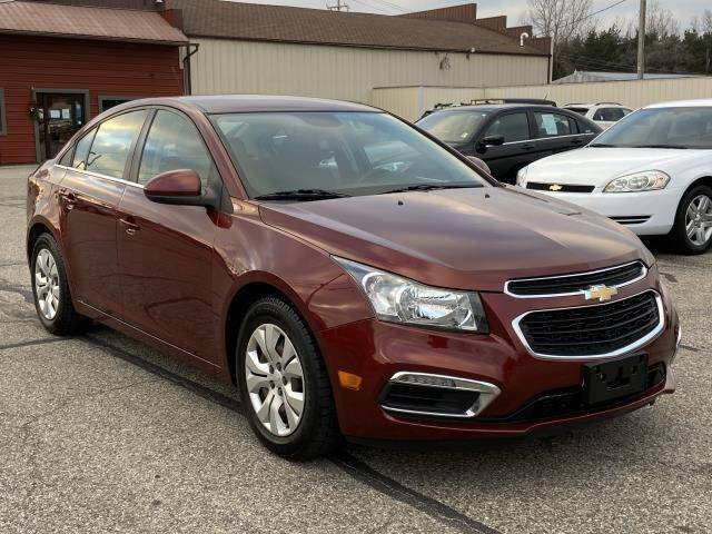 2016 Chevrolet Cruze Limited for sale at Miller Auto Sales in Saint Louis MI