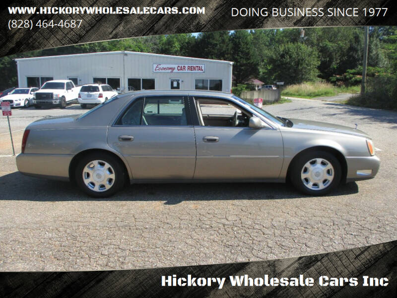 2002 Cadillac DeVille for sale in Newton, NC