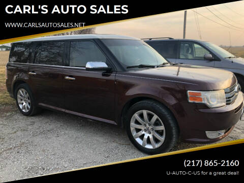 2009 Ford Flex for sale at CARL'S AUTO SALES in Boody IL