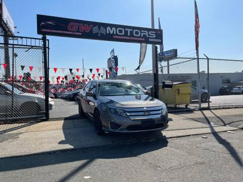 2012 Ford Fusion for sale at GW MOTORS in Newark NJ