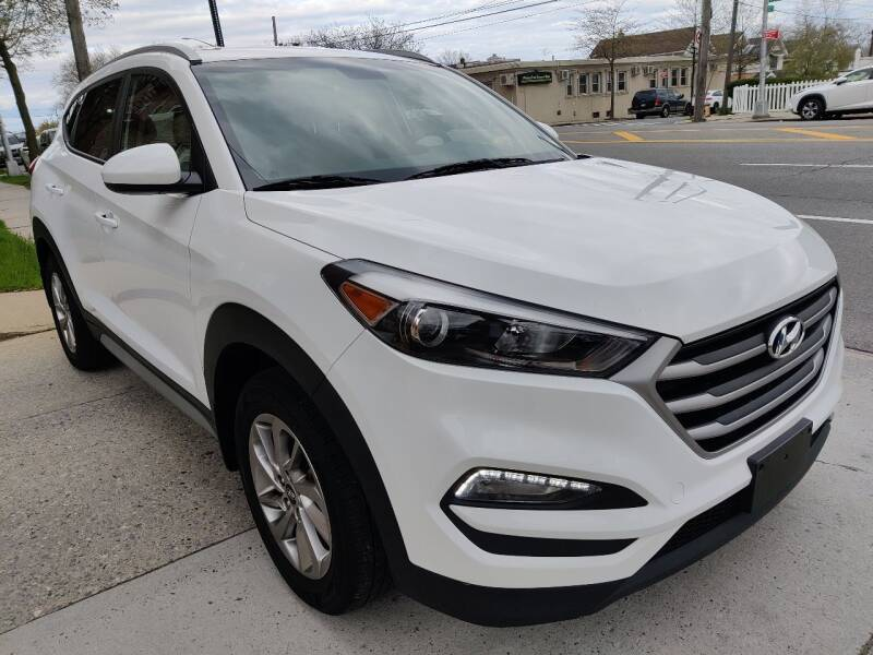 2018 Hyundai Tucson for sale at LIBERTY AUTOLAND INC in Jamaica NY