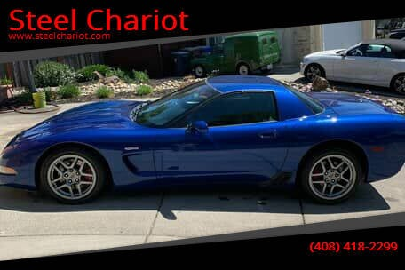 2002 Chevrolet Corvette for sale at Steel Chariot in San Jose CA