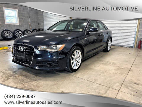 2015 Audi A6 for sale at Silverline Automotive in Lynchburg VA