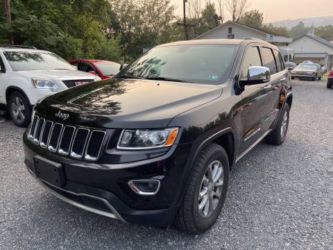 2014 Jeep Grand Cherokee for sale at JM Auto Sales in Shenandoah PA