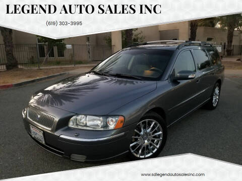 2007 Volvo V70 for sale at Legend Auto Sales Inc in Lemon Grove CA
