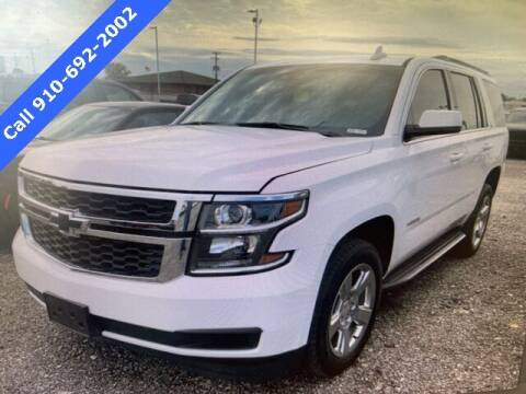 2017 Chevrolet Tahoe for sale at PHIL SMITH AUTOMOTIVE GROUP - SOUTHERN PINES GM in Southern Pines NC