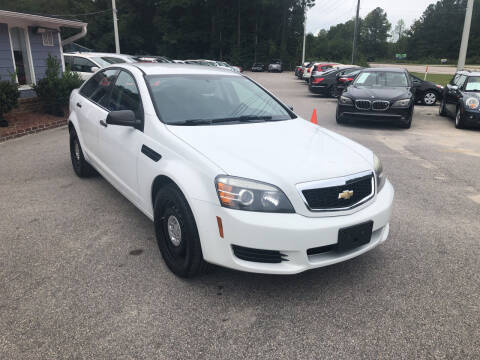 2014 Chevrolet Caprice for sale at Galaxy Auto Sale in Fuquay Varina NC