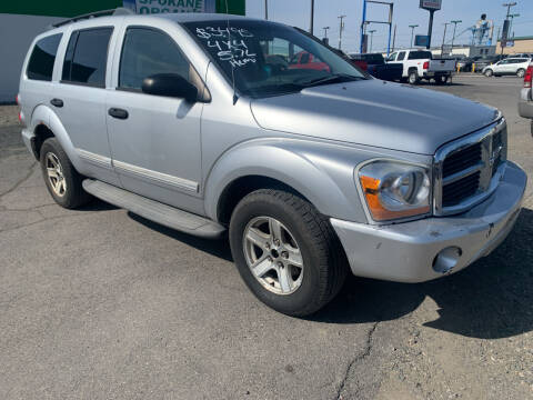 2005 Dodge Durango for sale at Independent Auto Sales #2 in Spokane WA