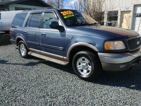 2001 Ford Expedition for sale at Low Auto Sales in Sedro Woolley WA