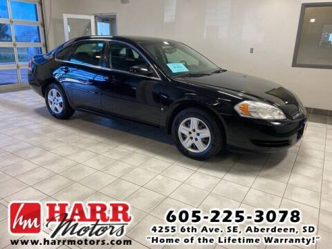 2007 Chevrolet Impala for sale at Harr Motors Bargain Center in Aberdeen SD