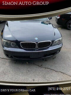 2007 BMW 7 Series for sale at Simon Auto Group in Newark NJ