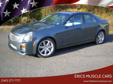 2005 Cadillac CTS-V for sale at Erics Muscle Cars in Clarksburg MD