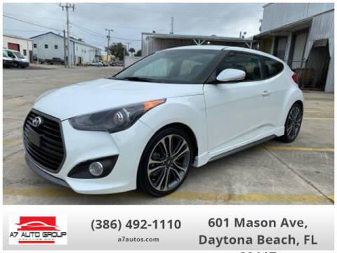 2016 Hyundai Veloster for sale at A7 AUTO SALES in Daytona Beach FL