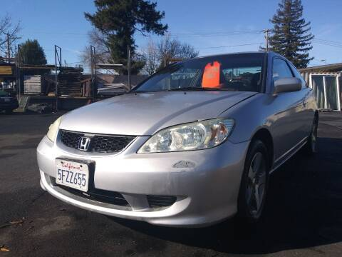 2004 Honda Civic for sale at AutoDistributors Inc in Fulton CA