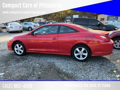 2004 Toyota Camry Solara for sale at Compact Cars of Pittsburgh in Pittsburgh PA