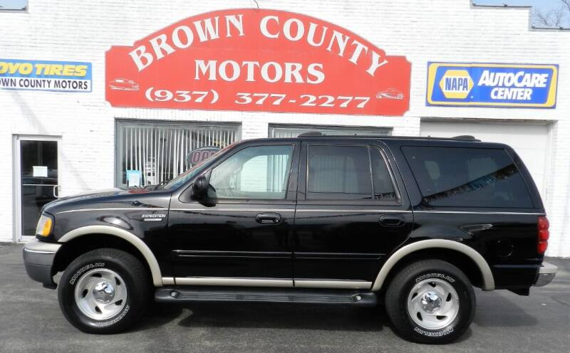 1999 Ford Expedition for sale at Brown County Motors in Russellville OH