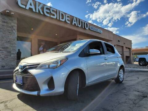 2015 Toyota Yaris for sale at Lakeside Auto Brokers Inc. in Colorado Springs CO
