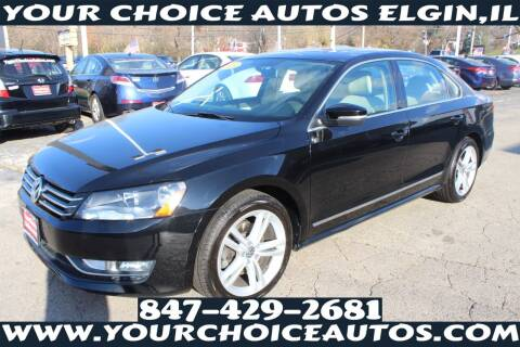 2015 Volkswagen Passat for sale at Your Choice Autos - Elgin in Elgin IL