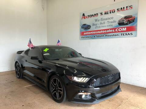 2015 Ford Mustang for sale at Antonio's Auto Sales - Antonio`s  2206 in Pasadena TX
