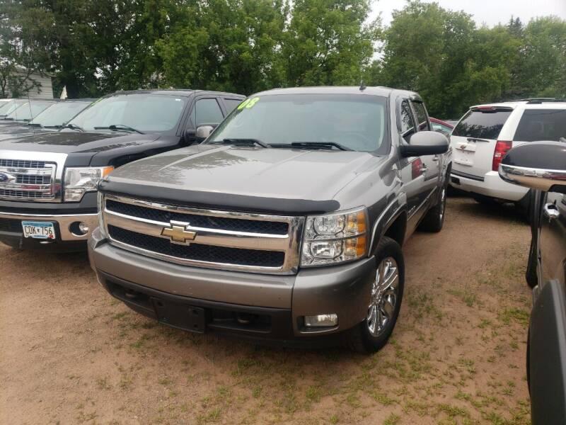 2008 Chevrolet Silverado 1500 for sale at WB Auto Sales LLC in Barnum MN