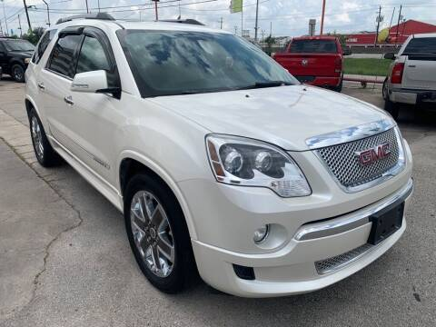 2011 GMC Acadia for sale at JAVY AUTO SALES in Houston TX