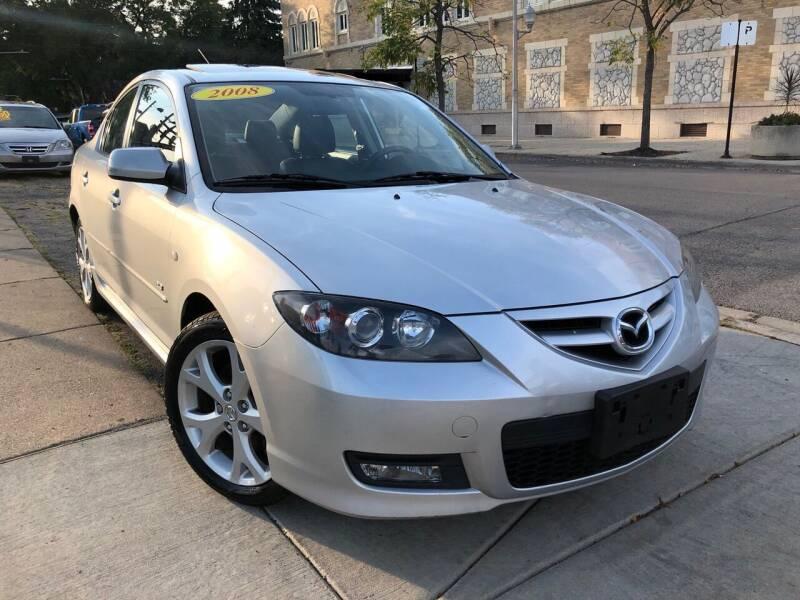 2008 Mazda MAZDA3 for sale at Jeff Auto Sales INC in Chicago IL