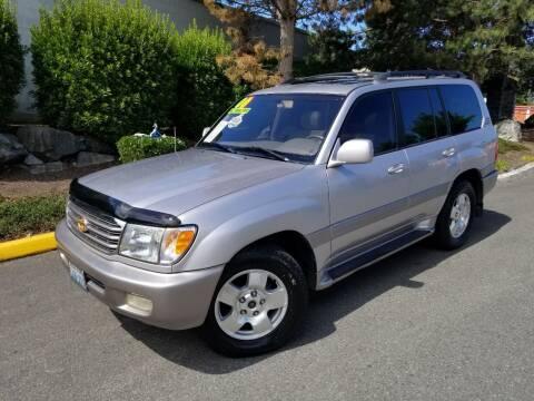 2000 Toyota Land Cruiser for sale at SS MOTORS LLC in Edmonds WA