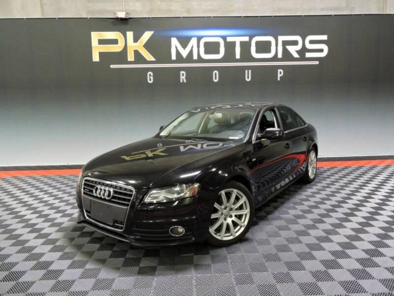 2012 Audi A4 for sale at PK MOTORS GROUP in Las Vegas NV