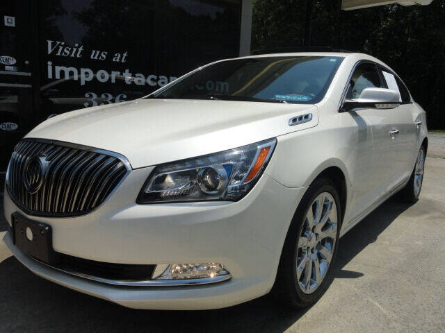 2014 Buick LaCrosse for sale at importacar in Madison NC