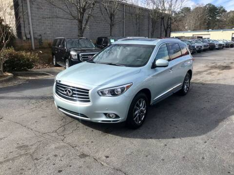 2013 Infiniti JX35 for sale at Five Brothers Auto Sales in Roswell GA