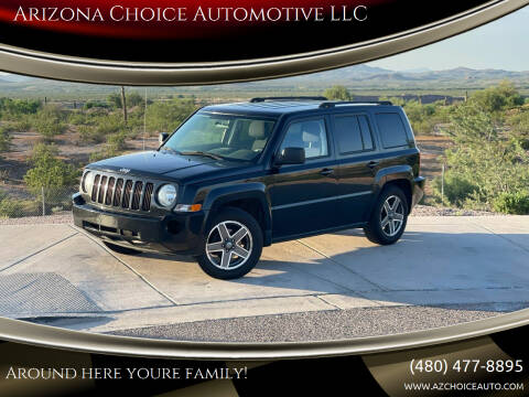 2010 Jeep Patriot for sale at Arizona Choice Automotive LLC in Mesa AZ