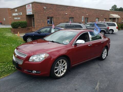 2011 Chevrolet Malibu for sale at ARA Auto Sales in Winston-Salem NC