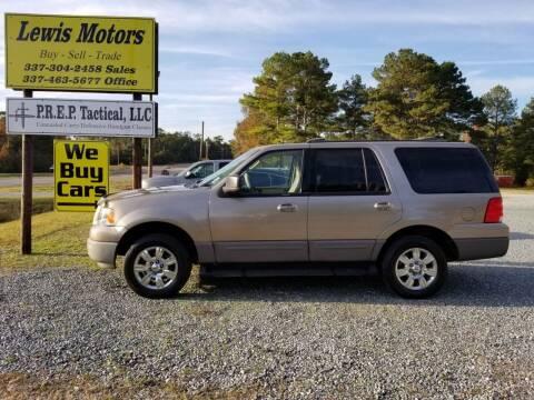 2003 Ford Expedition for sale at Lewis Motors LLC in Deridder LA